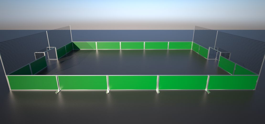 Soccer Court Configurator Design Your Individual Street