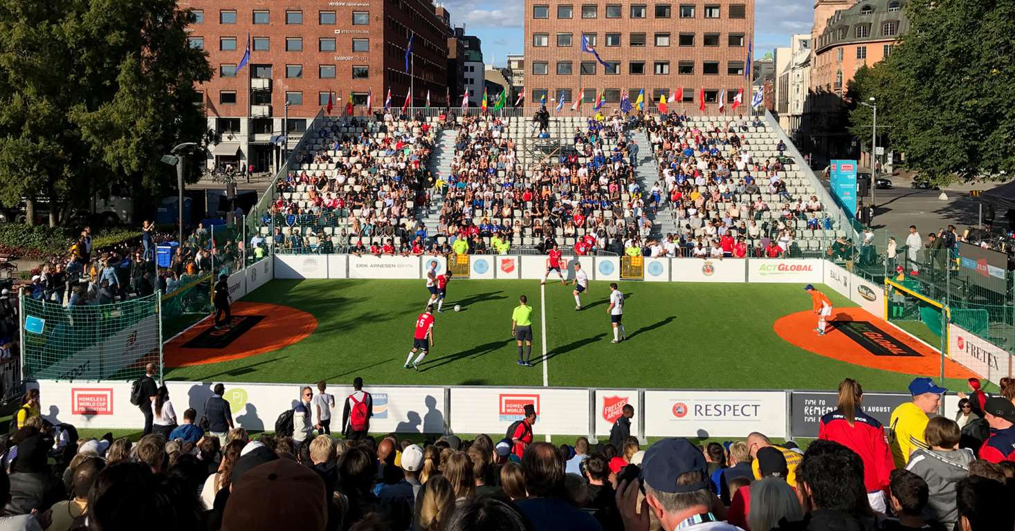 Homeless World Cup 2017 Oslo, Norway